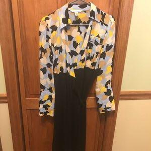 Wrap dress by Diane von furstenburg